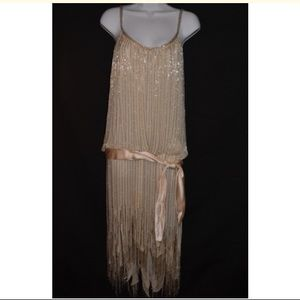 Vintage Dresses - 1920's Vintage Beaded Dress